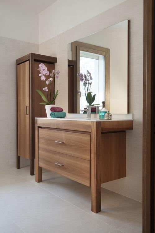 ... Bagno : Parete zona living e mobile bagno zanini alcide artigiani del